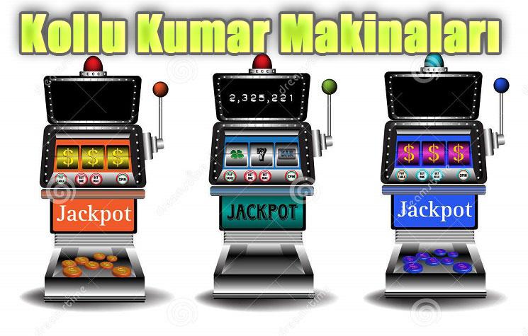 Kollu Kumar Makineleri, Kumar Makinaları Kollu, Kollu Kumar Makina Oyunları