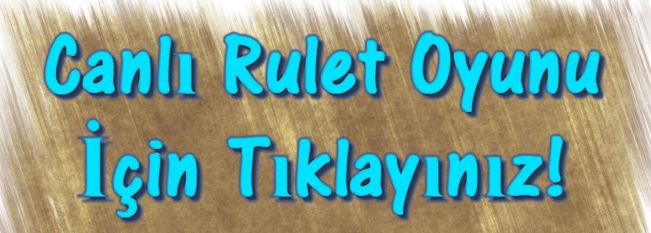 Canlı Rulet